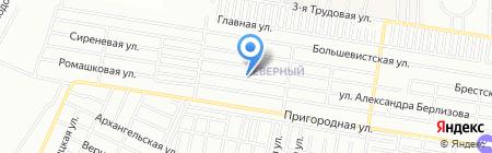 ДПК-Юг на карте Краснодара