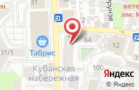 Схема проезда до компании Рагдай в Астрахани