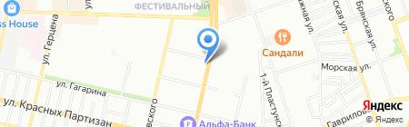 Феникс на карте Краснодара