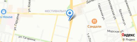 Сеньорита на карте Краснодара