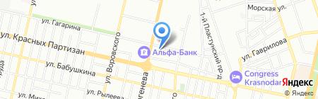 Ветеринарная аптека №238 на карте Краснодара