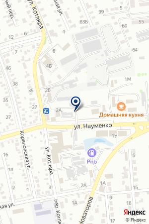 РЕКЛАМНОЕ АГЕНТСТВО АКСИС-ДИЗАЙН на карте Тимашевска