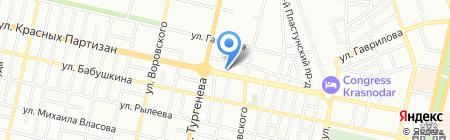 Макс и Дом на карте Краснодара
