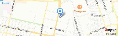 Хинкали House на карте Краснодара