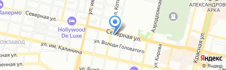 Юг-Мебель-Дизайн на карте Краснодара