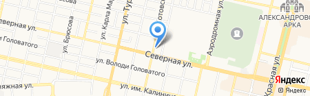 Noutoff на карте Краснодара