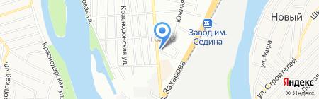Дом на Кубани на карте Краснодара