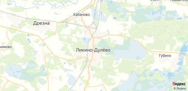 Ликино-Дулёво на карте