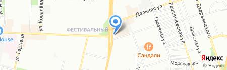 Be-apple на карте Краснодара