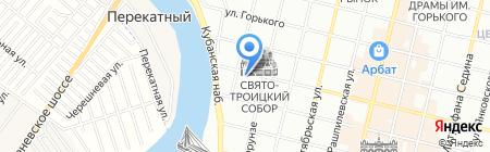 Л-Вэй на карте Краснодара