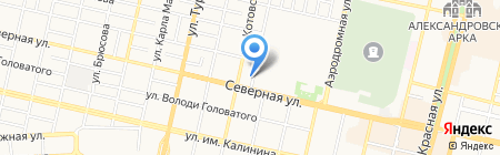 Красота на карте Краснодара