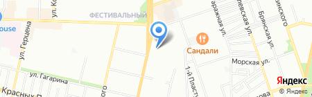 Согласие-дешевая аптека на карте Краснодара