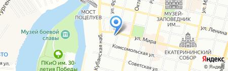 РоссТур на карте Краснодара
