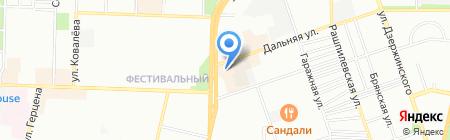 Банкомат Райффайзенбанк на карте Краснодара