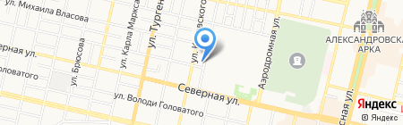 Red-Studio на карте Краснодара