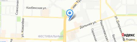 Компонент на карте Краснодара