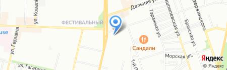 Компания ПРОЭЛИТА на карте Краснодара