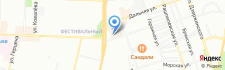 Дублесс на карте Краснодара