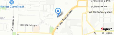 Детский сад №213 на карте Краснодара