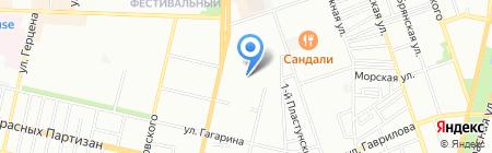 Детский сад №175 Улыбка на карте Краснодара