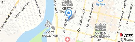 Детский сад №19 на карте Краснодара