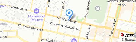 РиО на карте Краснодара