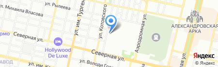 Ремонтная компания на карте Краснодара