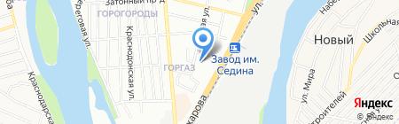 Континент-Юг на карте Краснодара