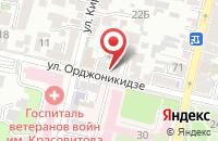 Схема проезда до компании Арт-Пресс в Краснодаре