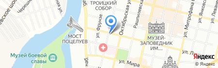 Fortuna на карте Краснодара