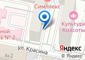 Екатерининская на карте