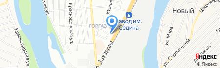 Домострой-5 на карте Краснодара