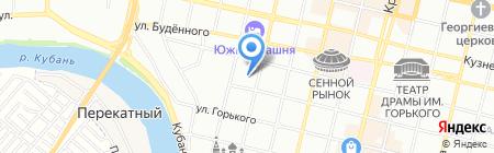 Детский сад №134 на карте Краснодара