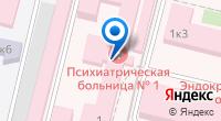 Компания Специализированная клиническая психиатрическая больница №1 на карте