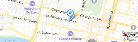 Аквафор на карте Краснодара