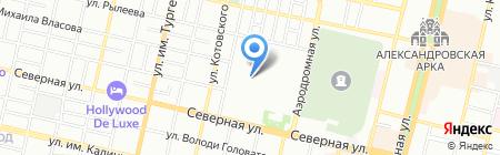ЮгСтрой на карте Краснодара