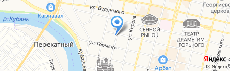 Мастер-Центр Плюс на карте Краснодара