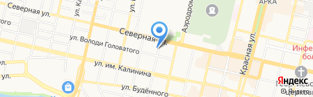 Интеркам на карте Краснодара