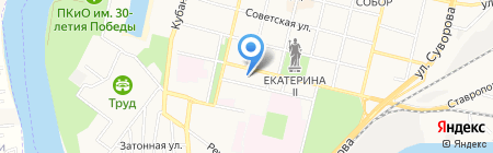 Радуга звуков на карте Краснодара