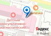 Городская поликлиника №26 на карте
