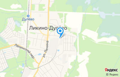 Местоположение на карте пункта техосмотра по адресу Московская обл, г Орехово-Зуево, г Ликино-Дулёво, ул Коммунистическая, д 1А