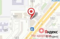 Схема проезда до компании Гарант Мебель в Краснодаре