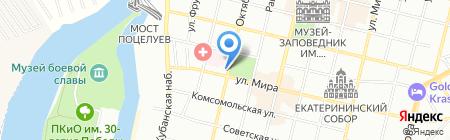 Строительный Олимп Кубани на карте Краснодара