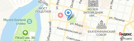 Обустройство на карте Краснодара