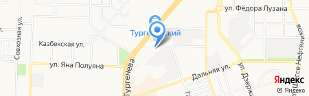 Детский сад №228 на карте Краснодара