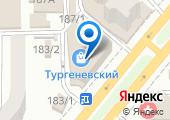 Тургеневский на карте