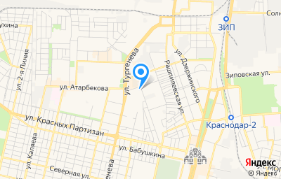 Местоположение на карте пункта техосмотра по адресу г Краснодар, ул Монтажников, д 8