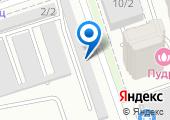 Гаражно-строительный кооператив №53 на карте