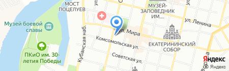 АКБ Экспресс-Волга на карте Краснодара