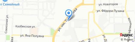 Трио+ на карте Краснодара